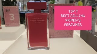 TOP 7 BEST SELLING WOMEN'S PERFUMES 2019 (Designer Fragrances)