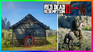 The Fort Riggs Indian Massacre Mystery Finally SOLVED by Bigfoot In Red Dead Redemption 2! (RDR2)