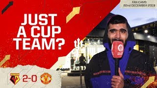 THAT'S WHY WE WON'T GET TOP 4! Watford 2-0 Manchester United | Adam Mckola Review