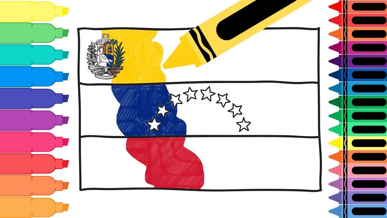 How To Draw Venezuela Flag