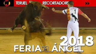 TERUEL - FERIA DEL ÁNGEL CONCURSO DE RECORTADORES CON TOROS 05/07/2018