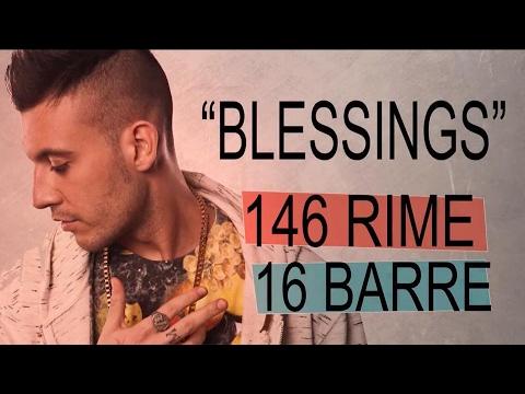 "FRED DE PALMA chiude 146 rime* in 16 barre! - ""Blessings"" - CTR ITA #07"
