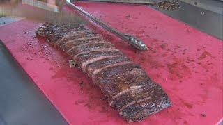 Fork in the Road: Ribs on the River at Fairbanks Park