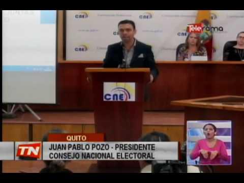 CNE elegirá por sorteo a miembros de juntas receptoras del voto