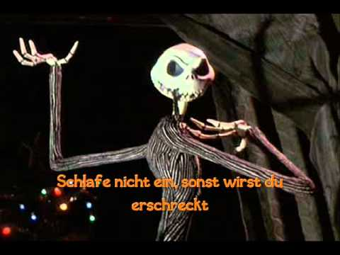 Nightmare Before Christmas - This is Halloween (Deutsch)