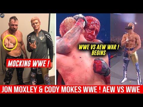 Jon Moxley & Cody Rhodes MOCKS WWE ! Dean Ambrose DEBUT In AEW ! Cody Vs Triple H WAR STARTED
