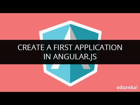 Create a First Application in Angular.js | User management System | Develop Responsive Page App