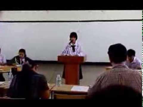 ส.ว.พ. ตัวแทน สพม.27 แข่งขัน debate โต้วาทีภาษาอังกฤษ