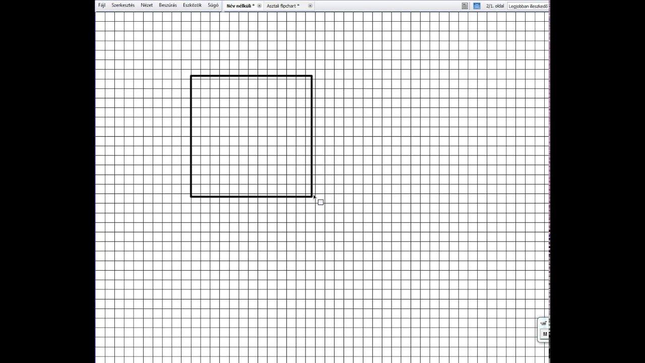 nézet négyzetek