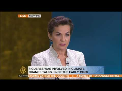 Christiana Figueres - Opening Speech at the AJ UN Debate