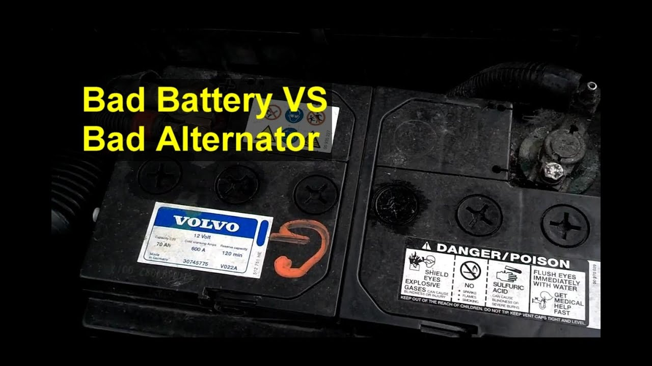 Bad Battery Or Alternator How To Tell The Difference Brief Version Auto Information Series