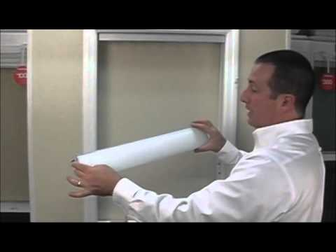 How to Install Vertical Blinds PVC Mirror - BlindsOnLine.com