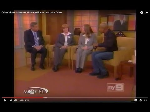 Crime Victim Advocate Montel Williams on Cruise Crime
