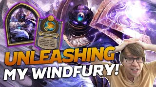 NEW HERO! Unleashing My Windfury w/ Al'Akir! | Hearthstone Battlegrounds | Savjz