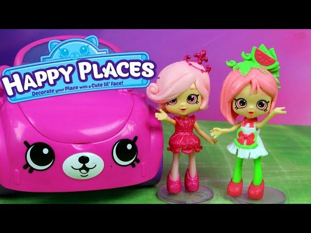 Shopkins Happy Places • Ekskluzywna willa • Chandelia & Pippa Melon • bajki dla dzieci