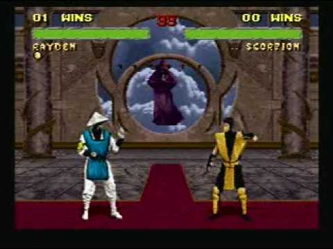 Mortal Kombat 2 Battle 8: Rayden vs Scorpion
