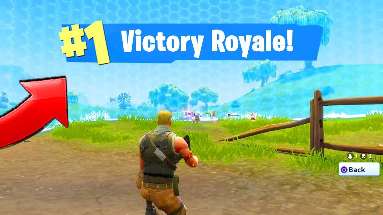 12 minutes 47 seconds of Fortnite SEASON 1 Victory Royales!