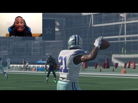Trick Play HB Pass Challenge! Who Can Throw a 99yd TD First? Ezekiel Elliott, LeVeon Bell or Gurley?