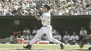 1996ALDS Gm1: Anderson hits homer in 1st inning