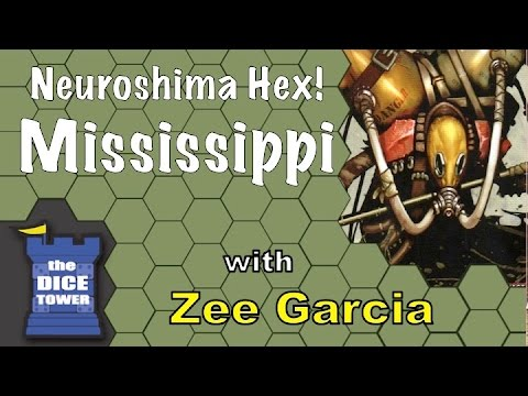 Neuroshima Hex! Mississippi Review - with Zee Garcia