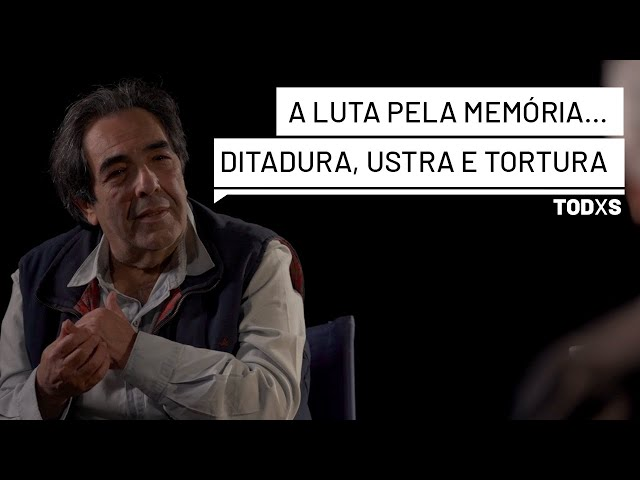 """Diogo: """"Ustra me torturou 90 dias, morava num Sobrado na OBAN e a mulher dele visitava torturadas"""""""