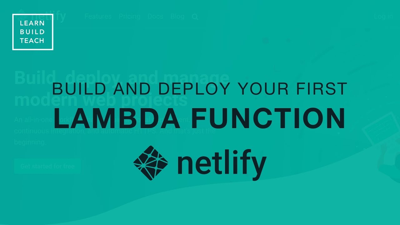 Build and Deploy a Serverless Function to Netlify ― Scotch io