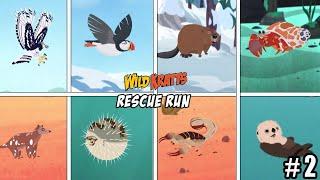 Wild Kratts Rescue Run - COMPLETE ALL SECRET CREATURE PART 2