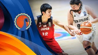 New Zealand v Japan - Semi-Final - Full Game - FIBA U16 Women's Asian Championship 2017