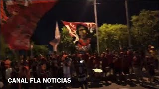 ÚLTIMAS NOTÍCIAS DO FLAMENGO!TORCIDA DO FLAMENGO FAZ FESTA DE APOIO AO TIME! | FLA 1x1 PALMEIRAS