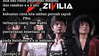 Aishiteru Zivilia Chord Lirik
