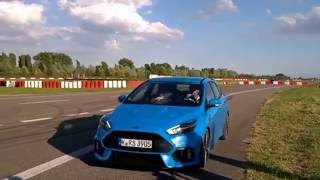 2016 Ford Focus RS test drive