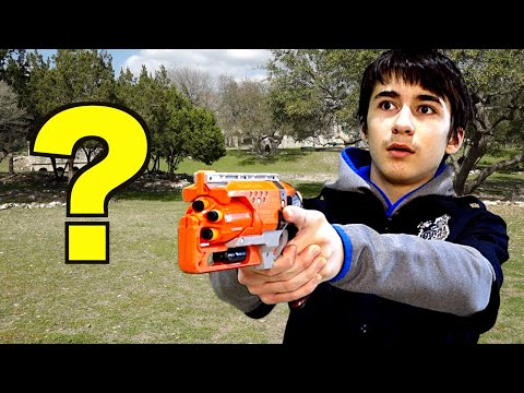 How Can The Nerf Patrol Battle The Invisible Man?