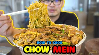 How to cook CHICKEN CHOW MEIN at Home