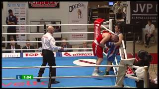 Nyrkkeily - boxing: Ruben Nazaryan BEL - Ross Henderson SCO 2-1
