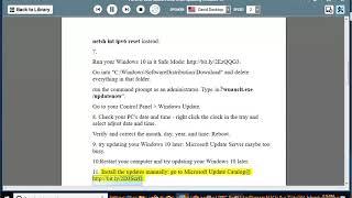 Windows 10 update error 0x80096004