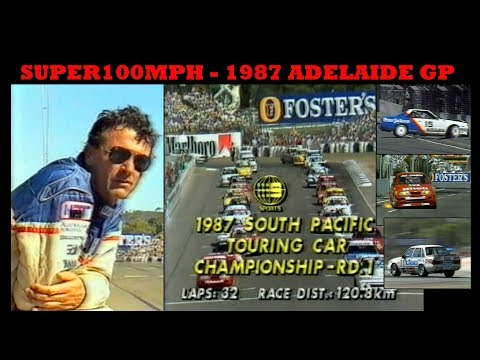 1987 South Pacific Touring Car Championship R 1 - Adelaide GP