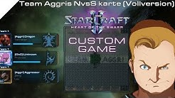 StarCraft 2 Custom Games #09 - North vs South - Team Aggri's NvsS Kartentest - Let's Play [HD]