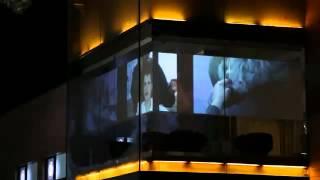 Проекционная витрина салон красоты Aldo  .flv
