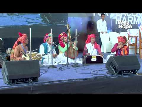 Walk of Hope 2015-16-Kabir Bhajans by Padma Shri Prahlad Tipanya