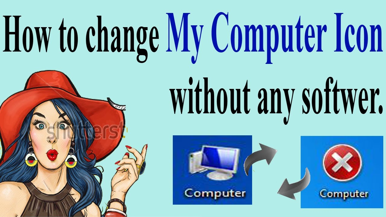 how to change computer icon
