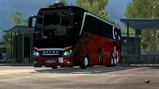 *Cabin DLC Added. *Errors Fixed. *The cameras were corrected. *The suspension is fresh. *The Voices of the Buses were Reborn.  – DO NOT ED?T – DO NOT COPY – DO NOT SHARE WITH YOUR OWN LINKS! – DO NOT FIX – NO PERM?SS?ON! – ED?T AND ED?T BANNED!!!  – This