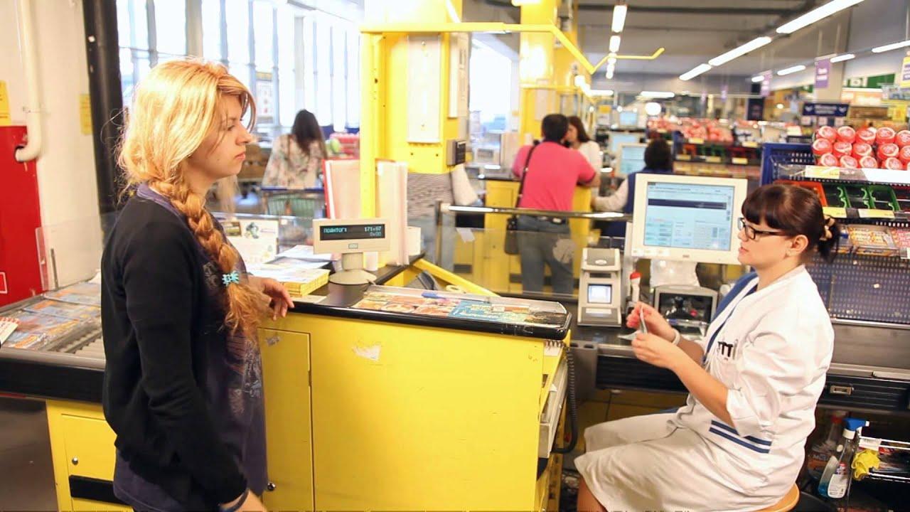 Порядок обслуживания покупателей в торговом центре ООО