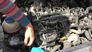 DIY Diesel Injector Cleaning with Liqui Moly Diesel Purge Plus Volkswagen Polo TDI 2011