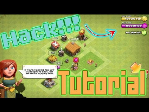 Clash Of Clans Hack Tutorial || BlueStacks