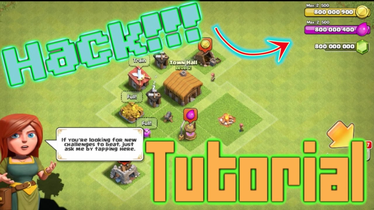 clash of clans game hacked