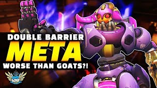 Overwatch - Sigma and Orisa Double Barrier META! WORSE Than GOATS!?