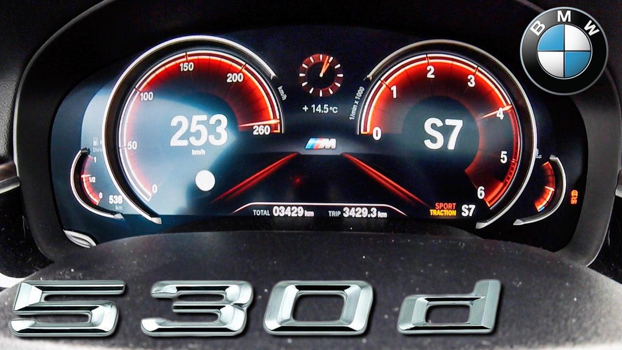 2017 Bmw 5 Series 530d M Sport G30 Acceleration Top Sd 0 253 Km H By Autotopnl