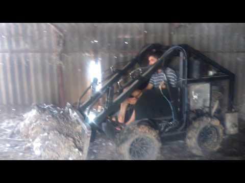 Трактор и минитрактор для уборки снега