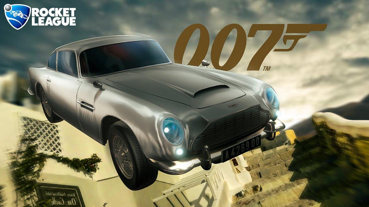 O NOVO MAGNÍFICO CARRO DO 007 NO ROCKET LEAGUE...