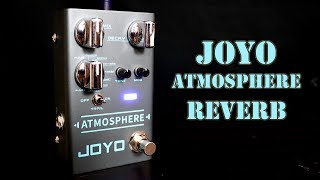 Joyo R-14 Atmosphere Reverb - Guitar Pedal Demo